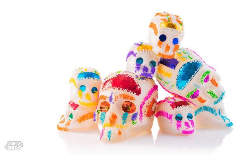 Three facts about sugar skulls! #cr