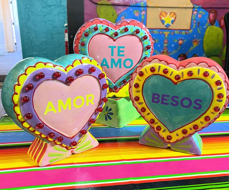 heart lamps by crafty chica