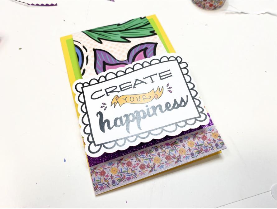 Top Fold CARD